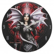 Valour Wall Clock By Anne Stokes