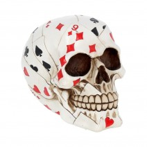 Dead Mans Hand Playing Card Skull Ornament