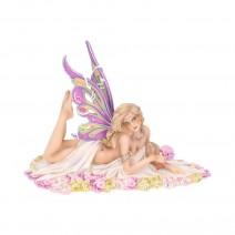 Jewelled Fairy Petalite Figurine Cute Pastel Fairy Ornament