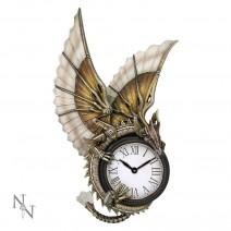 Anne Stokes Steampunk Clockwork Dragon Wall Clock