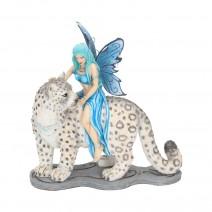 Hima Fairy with Cheetah Companion 20cm