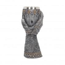 Medieval Lion Heart Gauntlet Armour Goblet