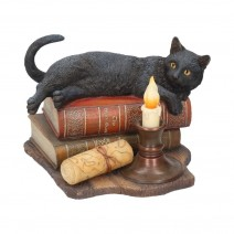 Lisa Parker The Witching Hour Black Cat & Candle Ornament