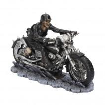 James Ryman Hell on the Highway Skeleton Motorbike Ornament Figurine