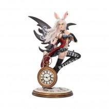 Wonderland Fairy Rabbit and Clock