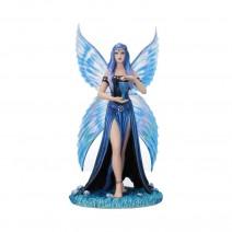 Anne Stokes Enchantment Blue Fairy