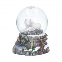 Lisa Parker Guardian of the North Snowglobe