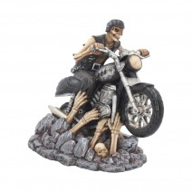 James Ryman Ride Out Of Hell Biker Figurine