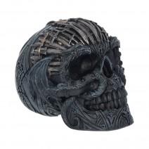 Medieval Sword Dragon Skull Gothic Ornament