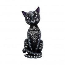Luna Lakota Mystic Kitty Spirit Board Black Cat Ornament
