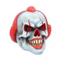 Play Time Skull Ornament Scary Horror Clown Head