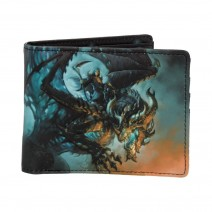 James Ryman Wings Of Death Wallet Gothic Dragon Reaper Purse