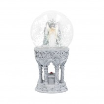 Anne Stokes Only Love Remains Angelic Snowglobe