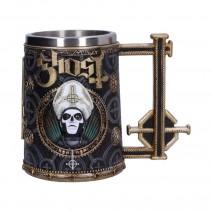 Ghost Papa Emeritus III Gold Tankard