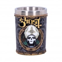 Ghost Papa Emeritus III Gold Shot Glass