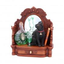 Lisa Parker Absinthe Cat and Green Fairy Figurine