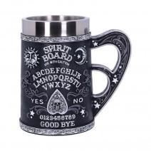 Black and White Spirit Board Tankard Mug