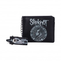 Slipknot Flaming Goat Logo Wallet with Chain