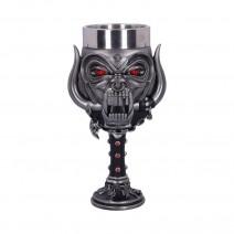 Motorhead Snaggletooth Warpig Goblet Glass