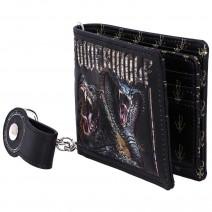 Powerwolf Kiss of the Cobra King Embossed Wallet