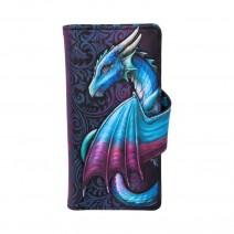 Take Flight Purse Blue Dragon Wallet