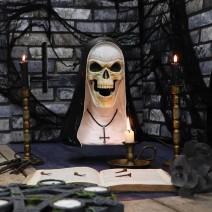 James Ryman Sister Mortis 29cm Skeleton Nun Horror Bust Figurine