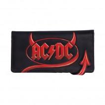 AC/DC Logo Lightning Embossed Purse Wallet