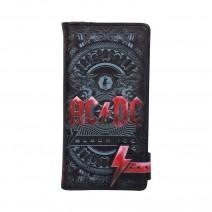AC/DC Black Ice Album Embossed Purse Wallet