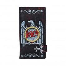Slayer Eagle Logo Embossed Wallet Purse