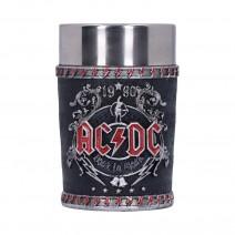 AC/DC Back in Black Shot Glass