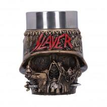 Slayer Eagle Helmet Skull Logo Shot Glass