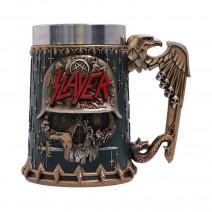 Slayer Eagle Helmet Skull Logo Tankard