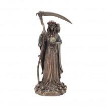 Santa Muerte Reaper Finished in Bronze 29cm