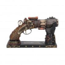 Nock's High-Powered Steam Gun Figurine Steampunk Ornament
