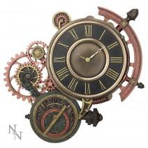 Steampunk Cogwork Clockwork Geared Wall Clock