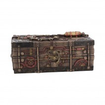 The Enigma Vault Bronze Steampunk Box
