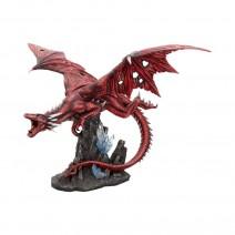 Fraener's Wrath Large Red Dragon Figurine