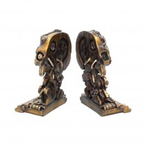 Cranial Steampunk Bookends 18.5cm