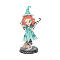 I'll Put A Spell On You Fairy With her Broomstick 19.5cm