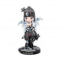 Black Stars Fairy Figurine 18cm