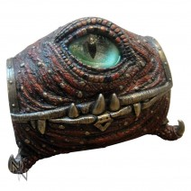 Ruby Dragon Eye Trinket Box 16.5cm