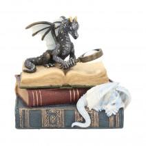 Miniature Dragon Scholars Trinket Box 13cm
