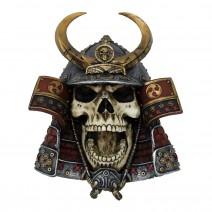 Kabuto Armoured Samurai Warrior Skull 26.6cm