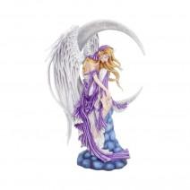 Nene Thomas Angelic Fairy Sat On A Crescent Moon Dreamer