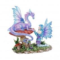 Amy Brown Companion Dragon Ornament