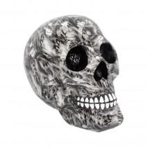 Screaming Soul Large Skull Print Ornament