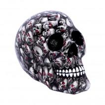 Bloodshot Red-Eye Skull Ornament