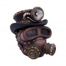 Mechanical Oxygenation Steampunk Mask Ornament