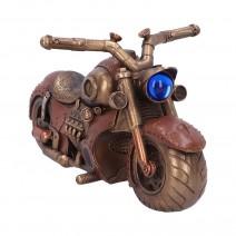 Cogwork Cruiser Steampunk Motorcycle Figurine 30cm