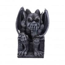 Edo Dark Black Grotesque Gargoyle Figurine